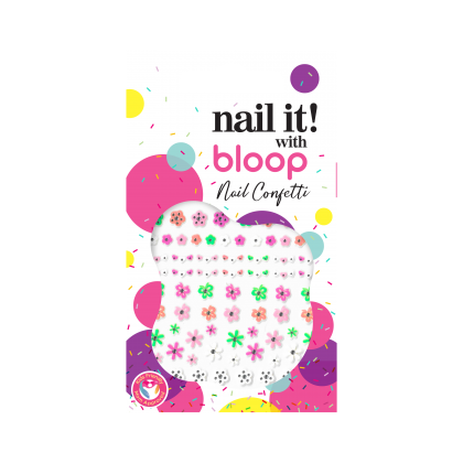 Nail Confetti Flower Power