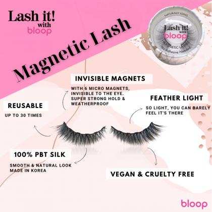 Black Naturally Classic Magnetic Lash